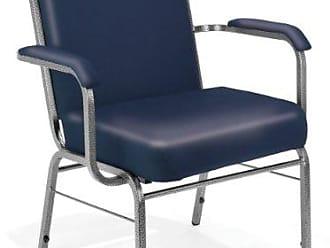 OFM 300-XL-V-4PK-605 Comfort Class Guest Chair, 35 Height, 29 Width, 25 Length, Navy (Pack of 4)