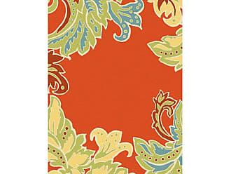 Liora Manne Ravella RVL-194717 Indoor/Outdoor Area Rug - Orange, Size: 2 x 8 ft. - RVLR8194717