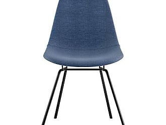 NyeKoncept 331006CL3 Mid Century Classroom Side Chair, Dodger Blue