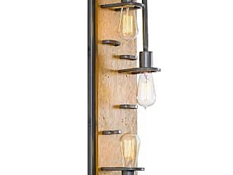 Varaluz Lofty 23.5 3-Light Wall Sconce in Steel/Wheat