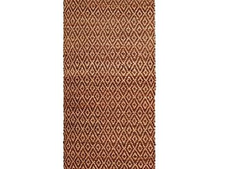 Home City Inc. Superior Diamond Jute Reversible Area Rug, 2 6 x 6, Brown