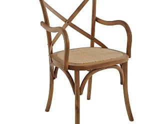 Rivatti Cadeira Katrina Rústica com Braço Natural