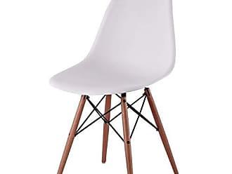 Siena Móveis Cadeira com Encosto e Pés em Madeira Flórida Siena Móveis Branco