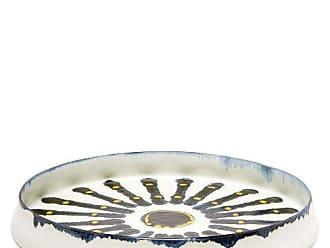 L'OBJET Lobjet - Bohême Porcelain Platter - White Multi