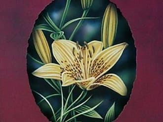 Buyartforless Buyartforless Orange Lilies I Darryl Vlasak 7x5 Poster