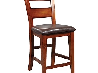 Winners Only Mango Counter Height Ladder Back Stool - Set of 2 - WIN229-1