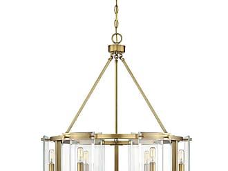 Savoy House 7-0600-6 Prescott 6 Light 28 Wide Drum Chandelier with