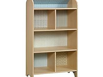 Sauder Sauder 422430 Pinwheel Dollhouse Bookcase, L: 28.03 x W: 15.98 x H: 50.00, Urban Ash finish
