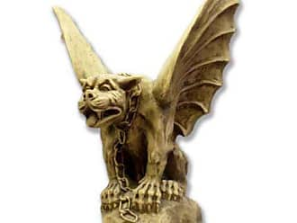 Orlandi Statuary Chained Gargoyle of Turin Garden Statue - F69035CHAINEDGARG