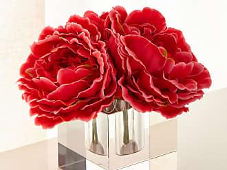 John-Richard Sparkling Peonies Faux Floral Arrangement