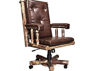 Montana Woodworks MWGCOC Glacier Country Collection Upholstered Office Chair