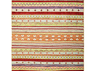 Solo Rugs Lori Hand Knotted Area Rug, 4 2 x 6 0, Multicolor