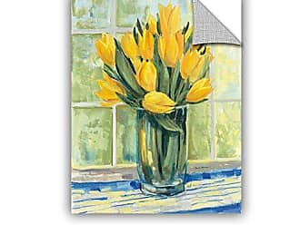 Brushstone Carol Rowan Window Floral II Removable Wall Art Mural, 24X32