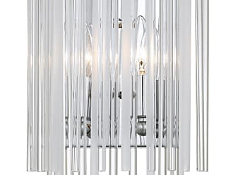 Crystorama Bleecker 2 Light Polished Chrome Sconce
