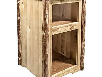 Montana Woodworks MWGCETST Glacier Country Collection End Table