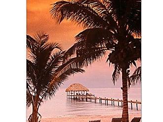 Ready2HangArt Ready2hangart Bruce Bain Belize Sunrise Canvas Wall Art, 32 x 24, Multicolored