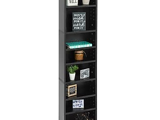 Best Choice Products 8-Tier Media Storage Tower Bookcase - Black