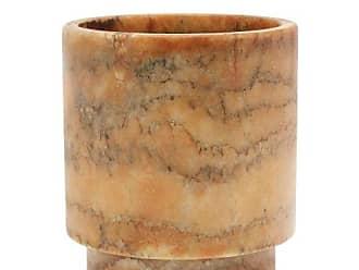 Michael Verheyden Tlight Alabaster Vase - Amber