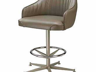 Regal Bucket Seat with Arms Rod Frame Metal Stool - JC-1130