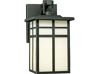 Thomas Lighting SL9104 1 Light Outdoor Wall Sconce from the Mission