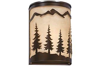 Vaxcel Lighting WS55508 Yosemite 1 Light Wall Washer Burnished Bronze