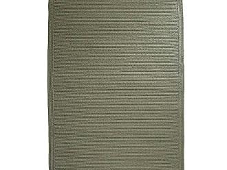 Rhody Rug Blue Ridge Rectangle Wool Braided Rug, 23 x 8 Runner, in Moss