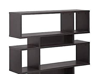 Wholesale Interiors Baxton Studio Cassidy 4-Level Modern Bookshelf, Dark Brown