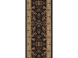 Rivington Rugs Rivington Rug Farwell Runner - Black - FARWR-56563-2 FT. 2 IN. X 10 FT