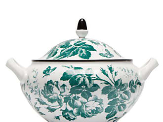 Gucci Herbarium Porcelain Soup Tureen - Womens - Green Multi