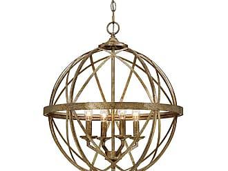Millennium Lighting Lakewood 4-Light Pendant in Vintage Gold