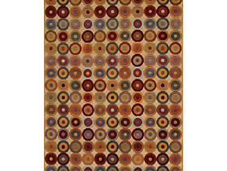 Noble House Noble Area Rug - Beige/Multi, Size: 6 x 9 ft. - NOB170269