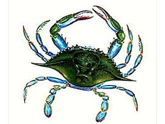 Betsy Drake FL004G Female Blue Crab Flag,28 X40