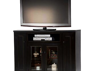 American Heartland 55 in. Tall Poplar TV Stand - Assorted Finishes - 75856EAM