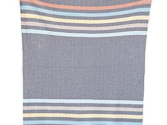 Creative Co-op Creative Co-op Cotton Knit Baby Blanket with Chevron Stripes, 40 L x 32 W, Grey with Multicolor