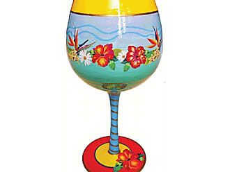 Gift Essentials 16 oz. Welcome to Paradise Wine Glass - IBWELCOMETOPARA
