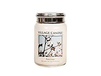 /Candela Passeggiata in Slitta Bianco Village Candle/ Grande Jarre 9,7/x 9,8/x 11,6/cm Vetro
