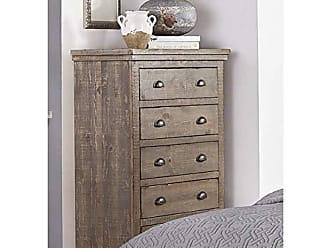 Progressive Furniture P635-14 Willow Chest, Weathered Gray