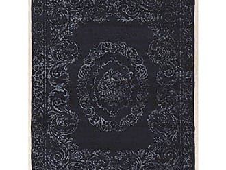 Linon Linon Antique Vintage with Silk Isfahan Blue2x3 2x3 Blue