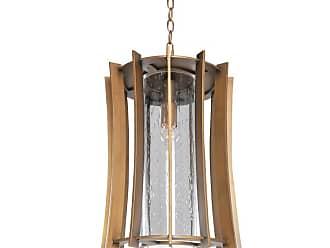 Kalco 400651 Ronan 1 Light Pendant Modern Bronze Indoor Lighting