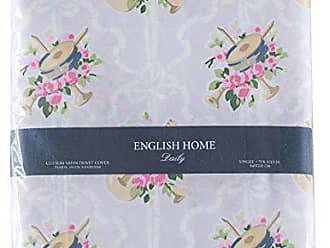 english home instrumental bettdecke bettwasche baumwolle lila 220 x 160 cm