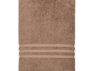 Linum Home Textiles 100% Turkish Cotton Denzi Bath Sheet, 1 Piece, Brown