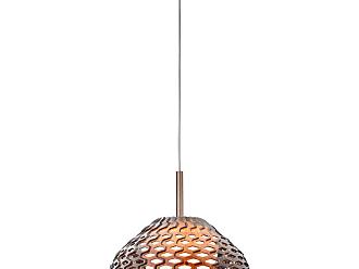 FLOS Tatou S1 Pendant Light In Bronze By Patricia Urquiola