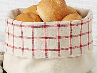 Danica Studio Rustic check bread basket