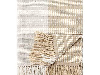 Jaipur Living Rugs Lovel Woven Striped Fringed Decorative Throw - THR100289