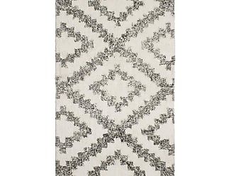 French Connection Diamond Moroccan Rug - 27X45