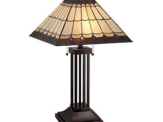 Lite Source Inc. LS-22260 Arty 2 Light Table Lamp Dark Bronze Lamps