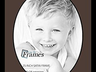 Art to Frames Double-Multimat-1494-776/89-FRBW26079 Collage Photo Frame Double Mat with 1-18x24 Openings and Satin Black Frame