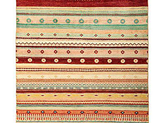 Solo Rugs Lori Hand Knotted Area Rug 5 1 x 6 10 Multicolor
