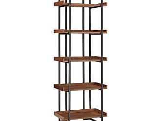 Weston Home Jiangish Etagere Bookcase - 68E765-12L[TCB]