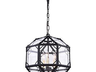 Elegant Furniture & Lighting Elegant Lighting Gordon 1514 Pendant Light - 1514D14GI
